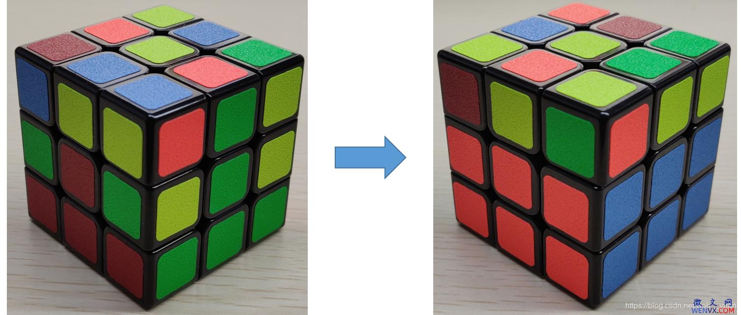 六面正方体三阶魔方7步还原法详解 第4张