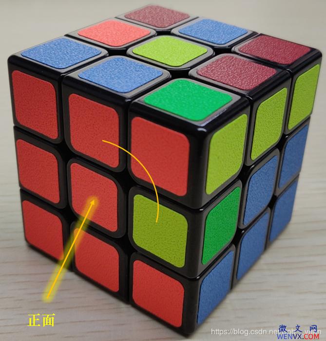 六面正方体三阶魔方7步还原法详解 第6张