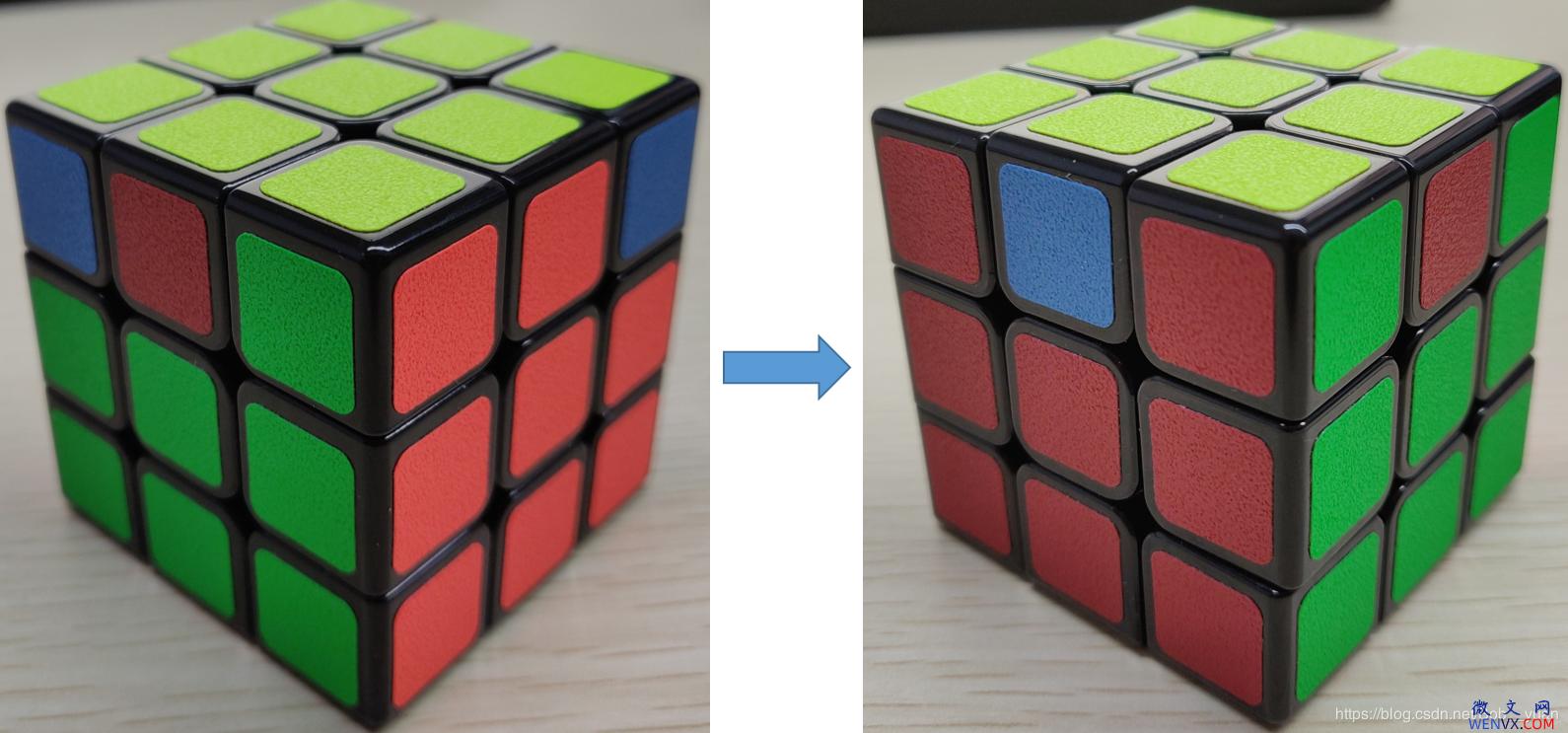 六面正方体三阶魔方7步还原法详解 第12张